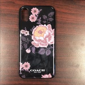Coach iPhone X / XS case